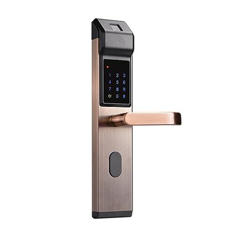 LYQZ Cerradura de Puerta electrónica Elegante de la ...
