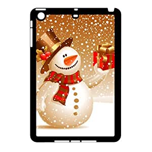 Ipad Mini 2D DIY Phone Back Case with Cute snowman Image