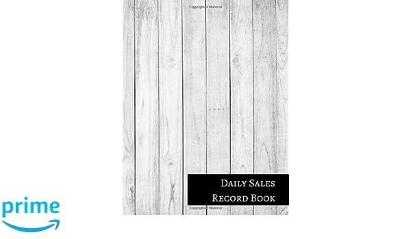 daily sales record book insignia accounts 9781521212837 amazon