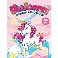 Unicorn Colouring Book for Kids Ages 4-8: Fun Children