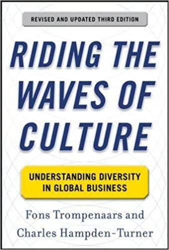 riding the waves of culture understanding diversity in global