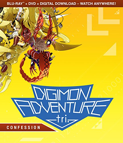 Digimon Adventure Tri.: Confession (Bluray/DVD Combo) [Blu-ray]