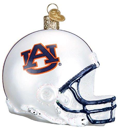 Tigers Helmet Ornament - Collegiate Football Helmet Ornament (Auburn)