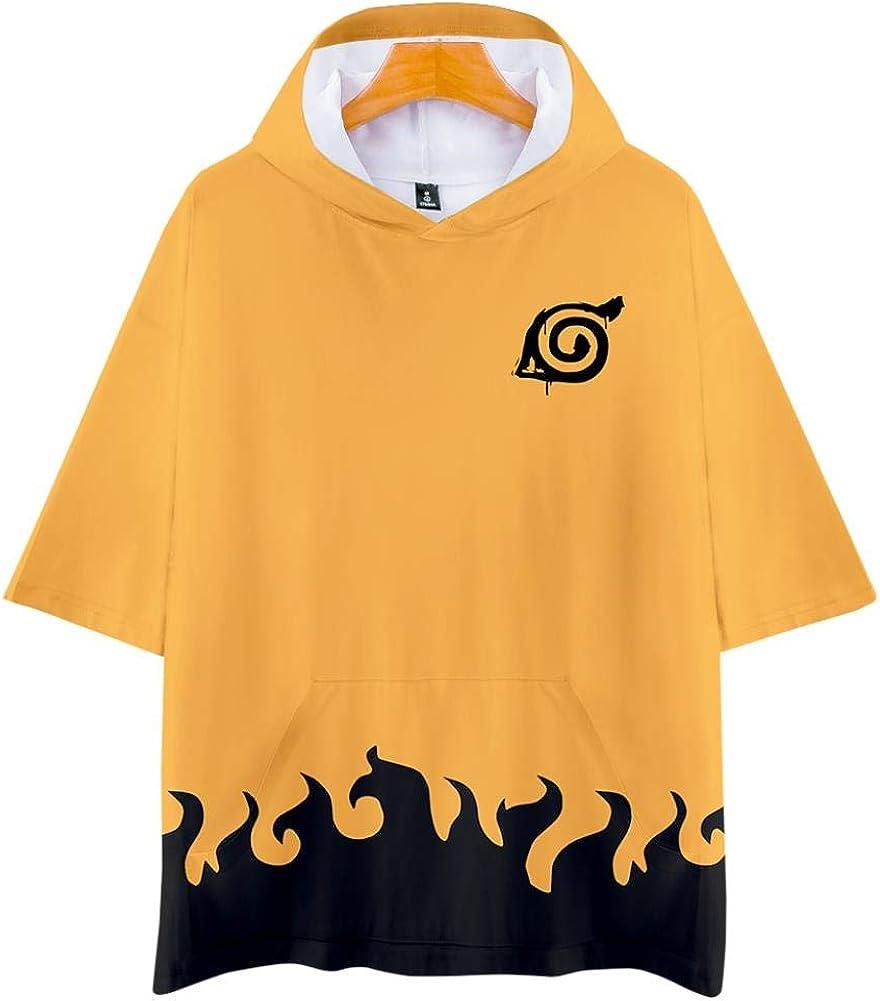 Camisetas, Unisex Naruto Anime Theme Juventud Encapuchada Deportes Pareja Delgada Camiseta De Manga Corta Top, Ninja, S: Amazon.es: Ropa y accesorios