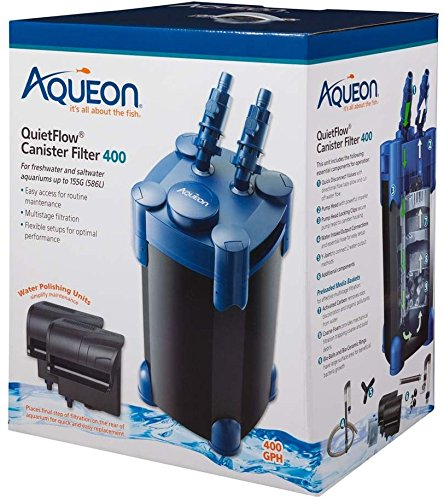 Aqueon QuietFlow 155/400 Canister Filter