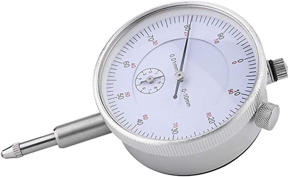Szliyands dial Gauge 0-10mm dial Gauge Gauge 0.01mm Precision Measuring Instrument high Precision Instrument Tool