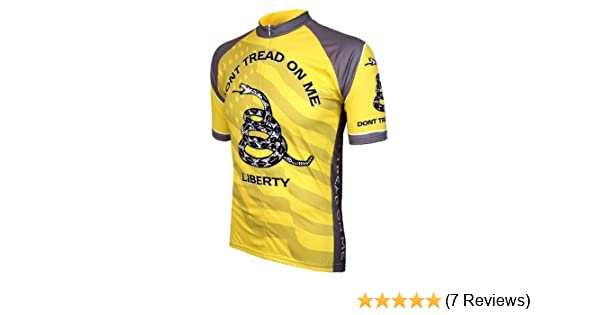 Amazon.com   World Jerseys Men s Don t Tread On Me Cycling Jersey   Clothing 2857af93a