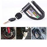 IZTOR Motorcycle security Disc Lock Anti Thief throttle Alarm chain lock
