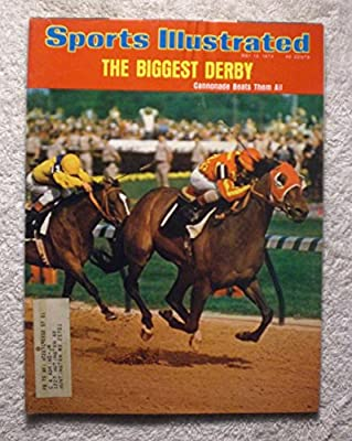 Cannonade - 1974 Kentucky Derby Winner - Sports Illustrated - May 13, 1974 - Horse Racing - SI-2