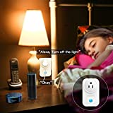 Smart Plug, SZMDLX Smart Outlet WiFi Plug Wireless Outlet Wifi Timer Socket Remote Control by Smartphone or Amazon Alexa Google Home, No Hub Required (2 Pack)