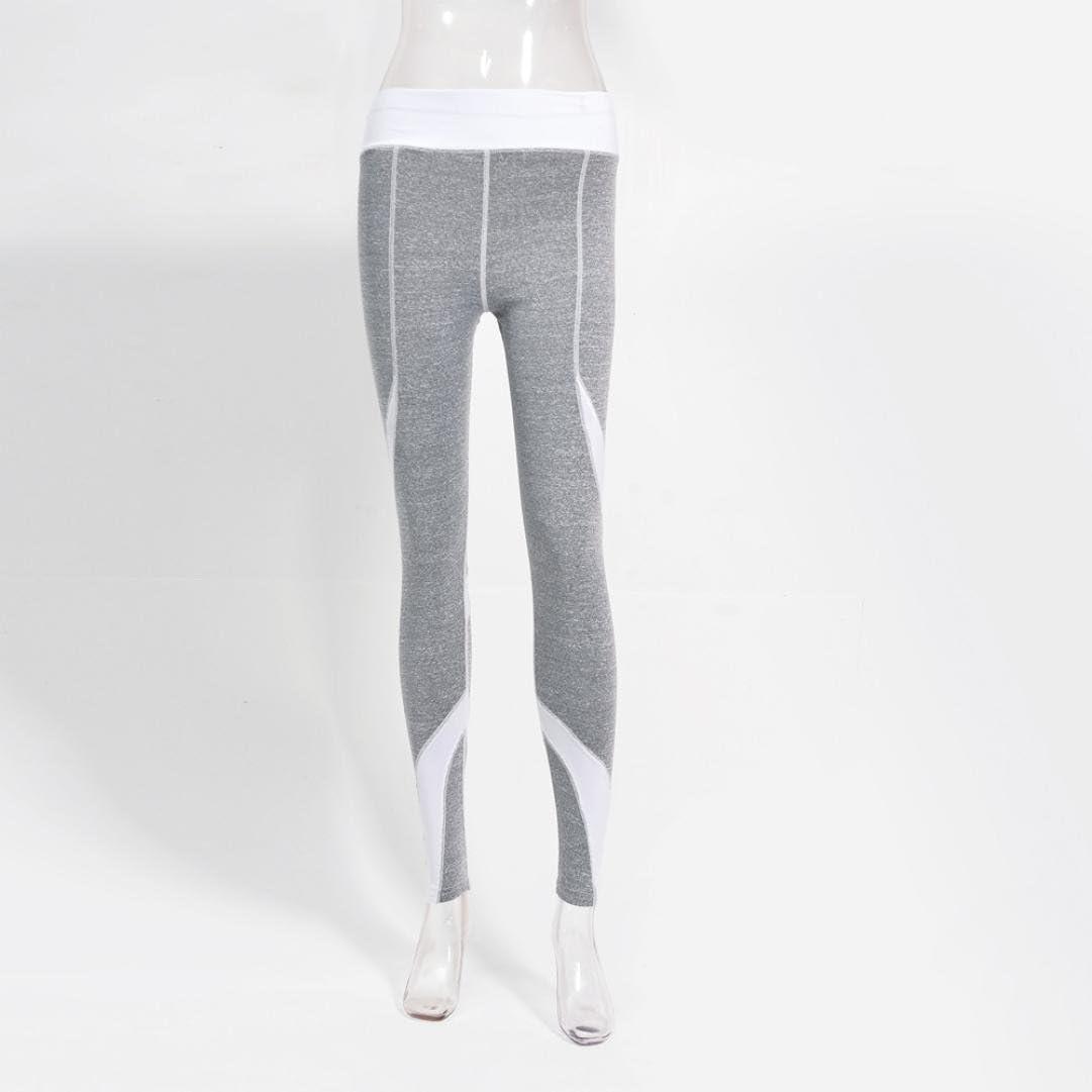 Toamen Femmes Pantalon de survêtement Slim Yoga Aptitude Gym