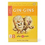 The Ginger People Gin Gins Hard Candy, 4.5-Ounce Boxes (Pack of 12)