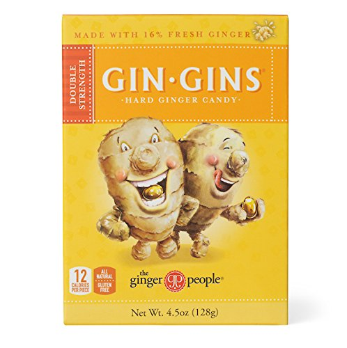 The Ginger People Gin Gins Hard Candy, 4.5-Ounce Boxes (P...