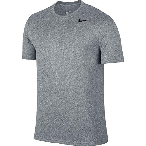 Men's Nike Legend 2.0 Training T-Shirt Wolf Grey/Black Size X-Large