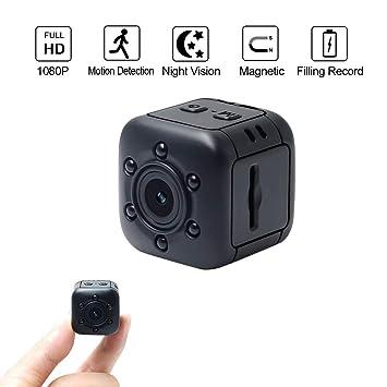 Cámara oculta 1080P HD, WIFI COP Cam visión nocturna y detección de movimiento, Nanny