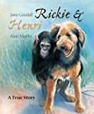 Front cover for the book Rickie and Henri by Jane Goodall