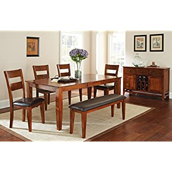 Steve Silver Company Mango Dining Table With 18