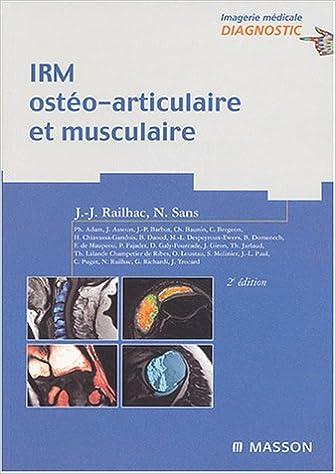 Livres gratuits IRM ostéo-articulaire et musculaire epub pdf