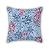 PILLO sea pillow cases 18 x 18 inches / 45 by 45 cm for divan,sofa,home,kids room,coffee house,bedding with two sides