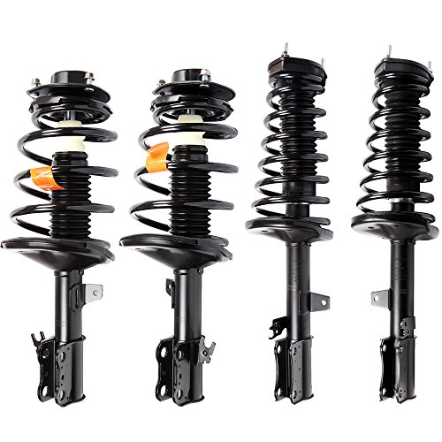 (ECCPP Complete Struts Spring Assembly Front Rear Struts Shock Absorber Fit for 1997-2003 Toyota Avalon,1997-2001 Toyota Camry,1999-2003 Toyota Solara,1997-2001 Lexus ES300 Set of 4)