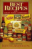 Best Recipes of the Great Food Companies, Judith Anderson, 0883659964