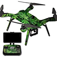 MightySkins Protective Vinyl Skin Decal for 3DR Solo Drone Quadcopter wrap cover sticker skins Weed