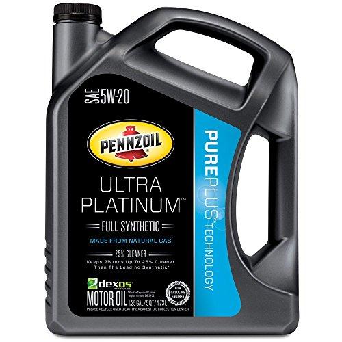 Pennzoil 550038331 3pk ultra platinum 10w 30 full for 5w30 vs 10w30 motor oil