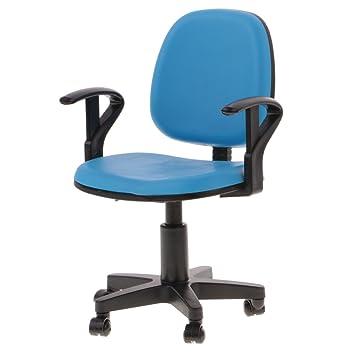 MagiDeal 1: 6 Maßstab Miniatur Sessel Drehstuhl Puppenmöbel Möbel ...