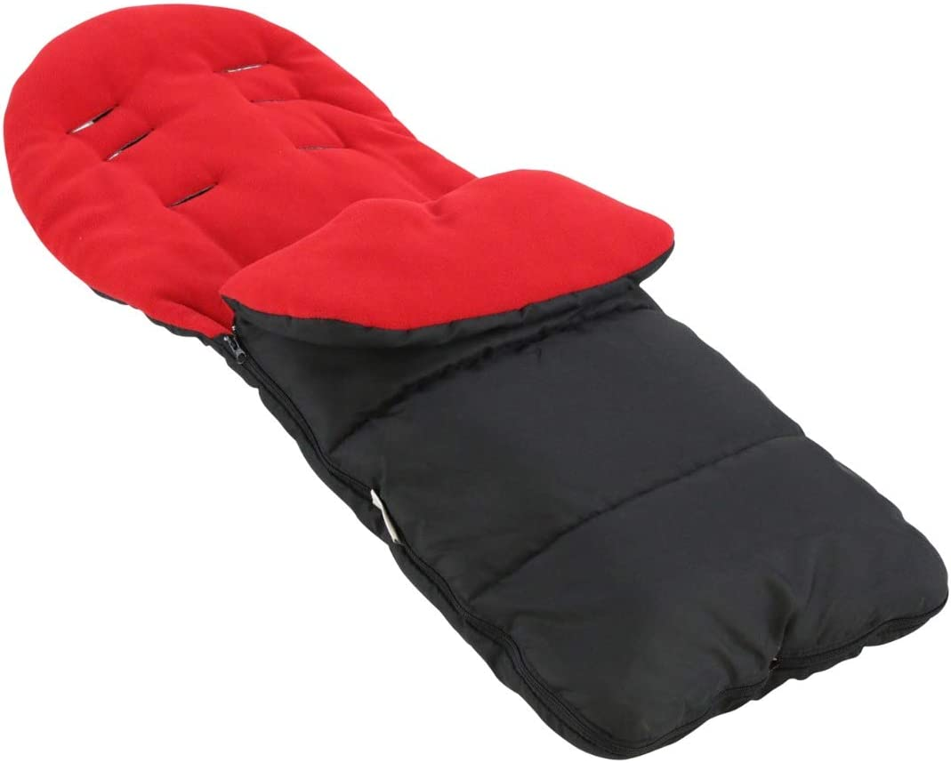 Premium Footmuff//Cosy Toes Compatible with Babyzen YoYo Black Jack