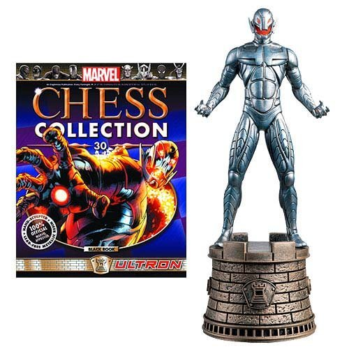 Marvel Chess Figure & Magazine #30: Ultron (Black Rook)