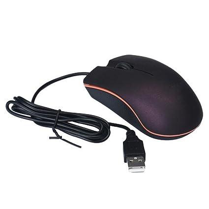 SKY USB óptico con cable Ratones de ratón del juego para PC Ordenador portátil Compatible para
