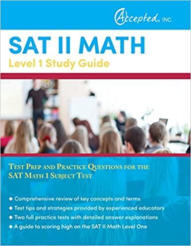 SAT II Math Level 1 Study Guide: Test Prep and Practice Questions ...