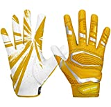 Cutters Gloves, Gold/White, Small