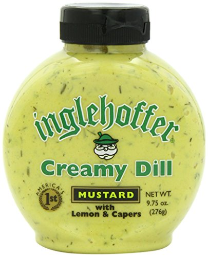(Inglehoffer Mustard, Creamy Dill, 9.75 Ounce (Pack of 6) )