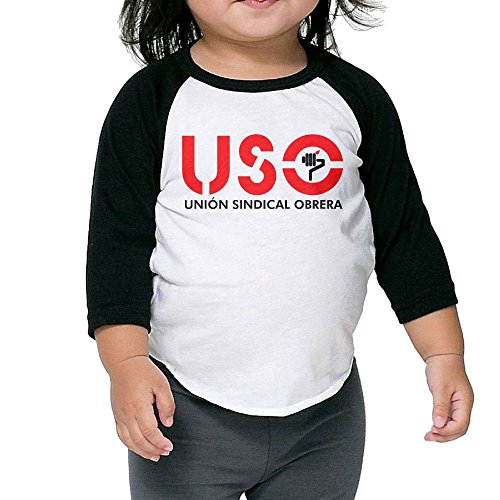 Uso Girl Costume (USO Kid's Sleeve Raglan Clothes Unisex 3 Toddler Design)