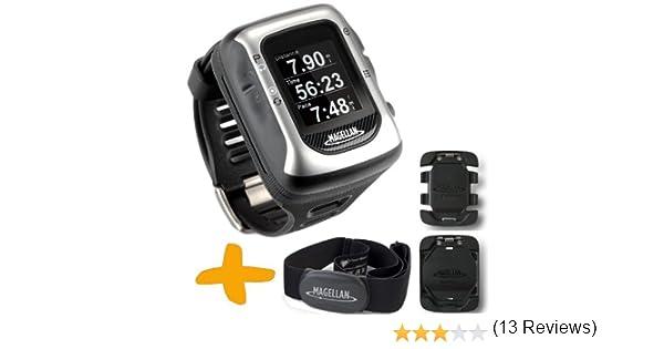 0fbbfdfcc4e8 Magellan Switch UP GPS reloj deportivo w   monitor de ritmo cardíaco y  monturas (Crossover Reloj GPS para múltiples actividades deportivas   Correr