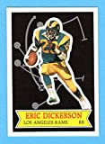 : Eric Dickerson 1984 Topps Football Glossy *Send-In* Rookie Card (Great Centering) **Hall of Famer** (Rams)