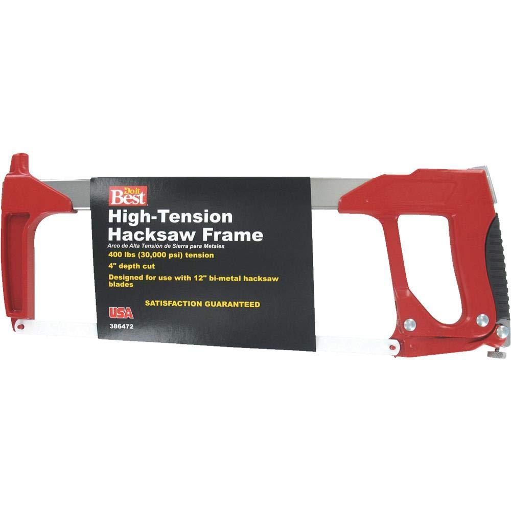 Do it Best High-Tension Hacksaw, HIGH TENSION HACKSAW
