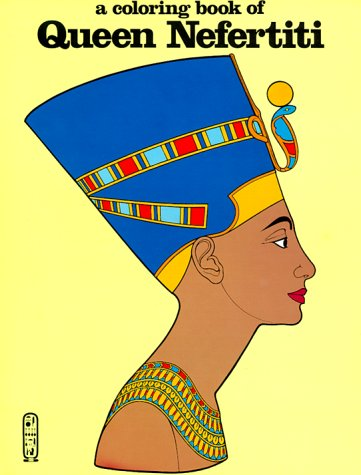 Queen Nefertiti Coloring Book
