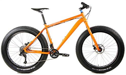 NEW IN BOX Motobecane FB5 3.0 26 inch Wheel Bike Disc Brake Fat Bike (Orange, 19in)