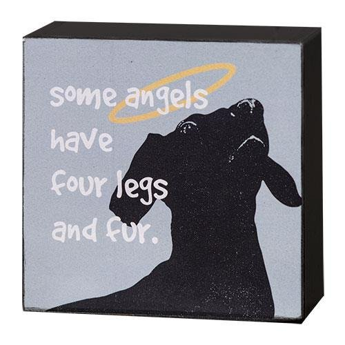 (SOME ANGELS HAVE FUR SIGN - DOG)