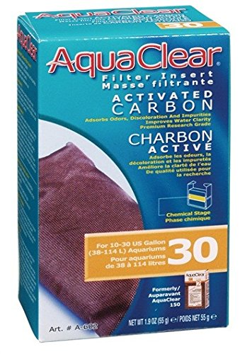 AquaClear 30 Activated Carbon, 1.9 (150 Carbon Insert)