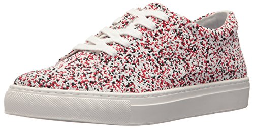 Katy Perry Women's The Sprinkle Sneaker, red/multi, 8.5 Medium US