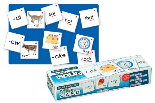 Lauri Pocket Chart Cards - Word Families (Word Families Cards)