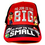 Nickelodeon Paw Patrol ''No Job No Pup'' Kids Children Boys Baseball Cap -Age 4 ~ 10