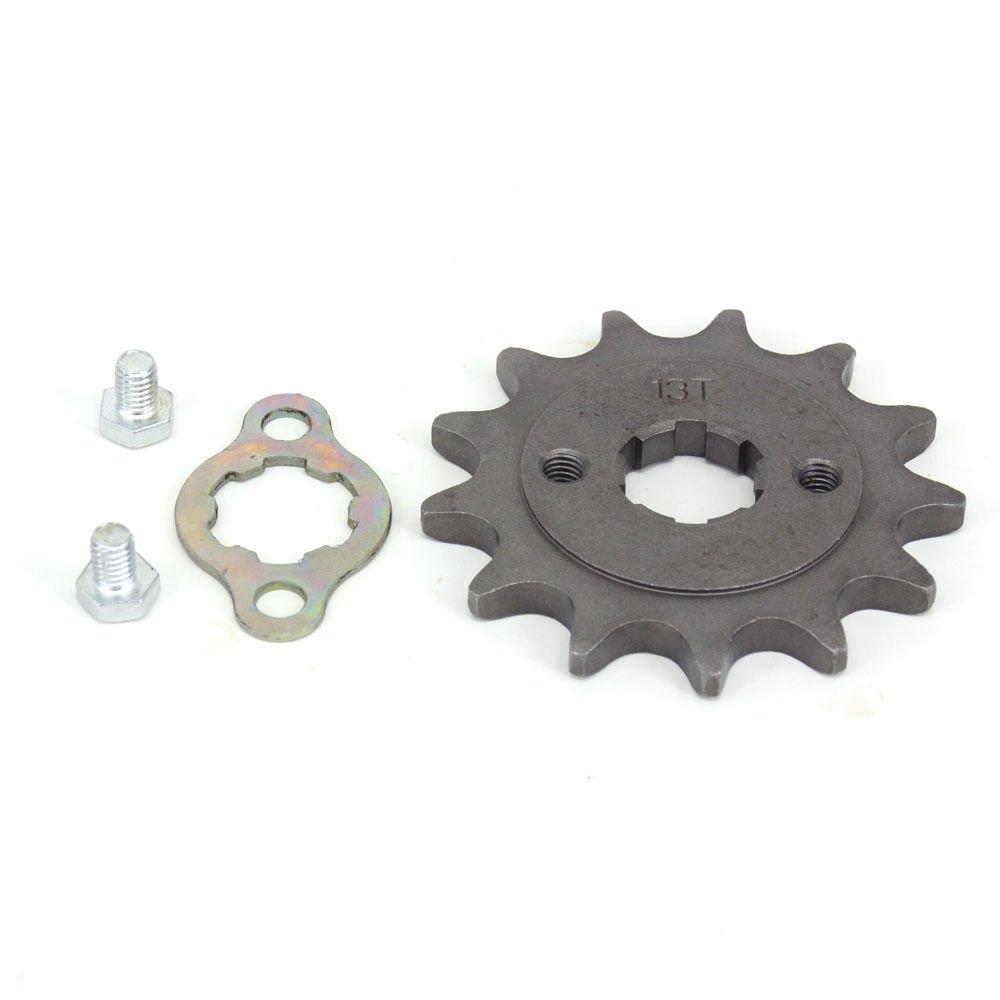 13 Teeth 20mm Front Sprocket For 520 Chain Loncin Lifan Engine Pit Bike ATV ZHEJIANG JIEHU