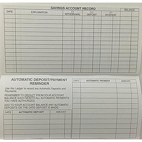20 checkbook transaction register calendar 2017 2018 2019 check book