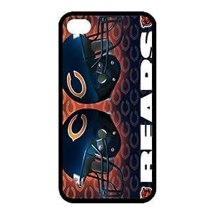 Custom Chicago Bears Back Cover Case for iphone 4,4S JN4S-696