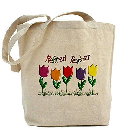 Cafepress Retired Teacher Tote bag–standard multi-color by Cafepress