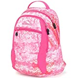 High Sierra Unisex Curve Backpack, Lightweight and Stylish Bookbag Backpack for...